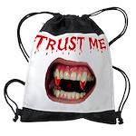 3-VAMPIRE TRUST.jpg Drawstring Bag