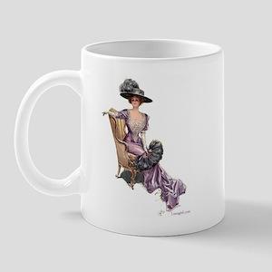 Victorian Lady Harrison Fisher Elegant Mug