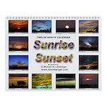 Sunrise, Sunset Wall Calendar