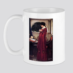 Crystal Ball magic lady Waterhouse painting Mug