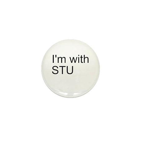 I'm with Stu Mini Button (100 pack)