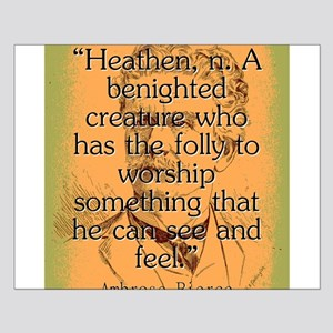 Heathen - Bierce Small Poster