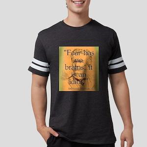 Fear Has No Brains - Bierce Mens Football Shirt