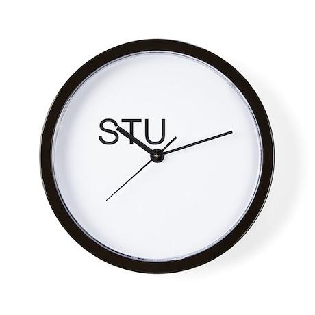stu Wall Clock