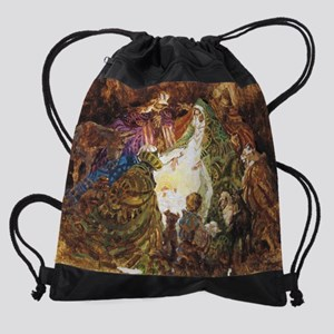 babyjesus Drawstring Bag