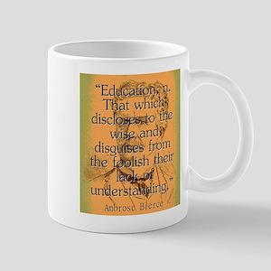 Education - Bierce 11 oz Ceramic Mug