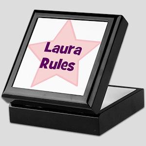 Laura Rules Keepsake Box