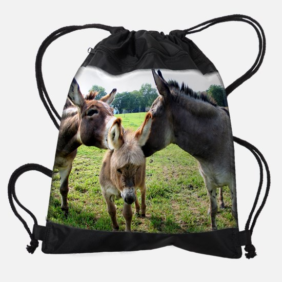 donkey7.png Drawstring Bag