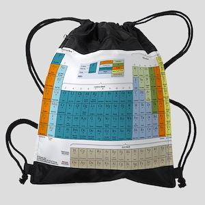 2-Periodic Table of Nonsense Poster Drawstring Bag