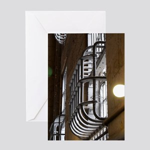 Barred View Greeting Card