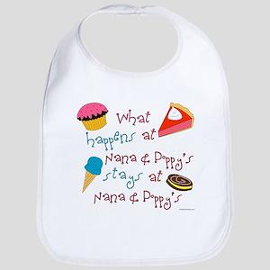"""""""Nana & Poppy's"""" Bib"""