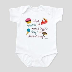 """""""Nana & Poppy's"""" Infant Bodysuit"""