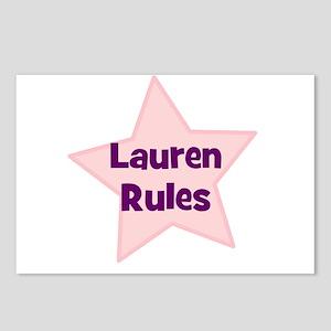 Lauren Rules Postcards (Package of 8)