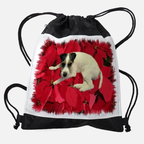 JACK RUSSELL IN THE... Drawstring Bag