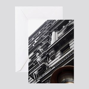 Architecture in Gray Greeting Card