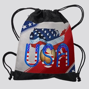 baseballintheusa Drawstring Bag