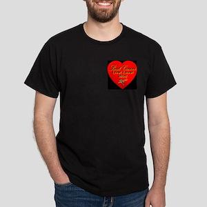 Beat Cancer Live! Love! Win! Dark T-Shirt