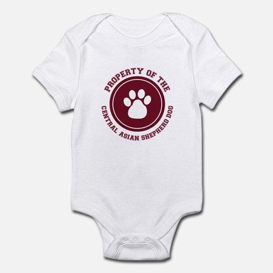 Central Asian Shepherd Dog Infant Bodysuit