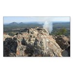 Glass House Mountains Rectangle Sticker