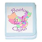 Baotou China baby blanket