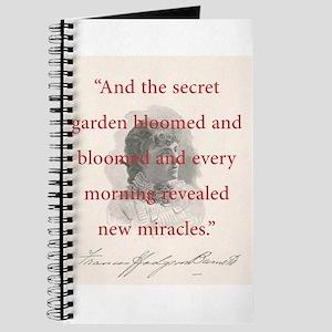 And The Secret Garden Bloomed - FH Burnett Journal