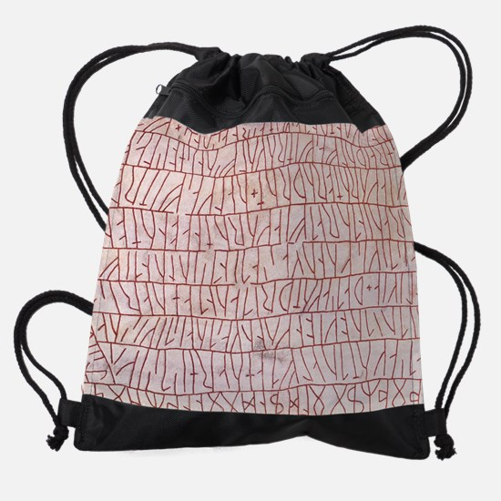 Runic inscriptions Drawstring Bag