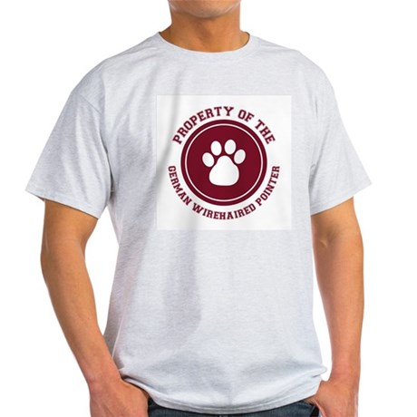 German Wirehaired Pointer Ash Grey T-Shirt