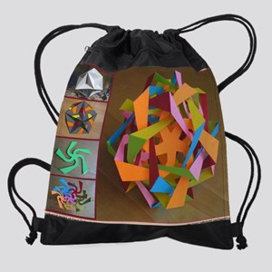 Topological model of Great Dodecahe Drawstring Bag