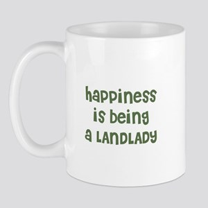 Happiness is being a LANDLADY Mug