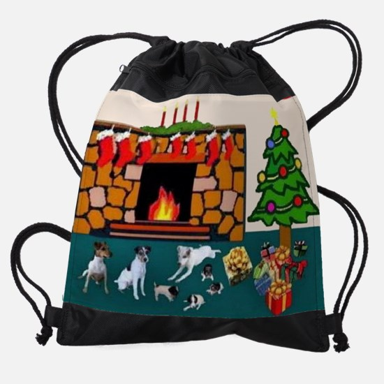 FAYES CHRISTMAS cal... Drawstring Bag