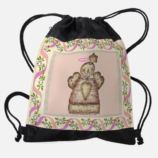 COUNTRY ANGEL calendar.jpg Drawstring Bag