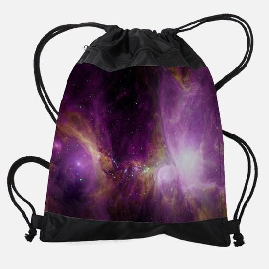 woven blanket Drawstring Bag