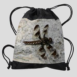 Drgn_on_Granite_cal copy Drawstring Bag