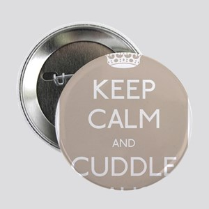 "Keep calm and cuddle an aussie 2.25"" Button"