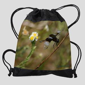 DrgnDaisy_cal copy Drawstring Bag