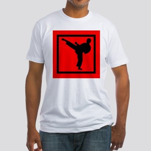 Karate Fitted T-Shirt