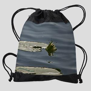 Mating_cal copy Drawstring Bag