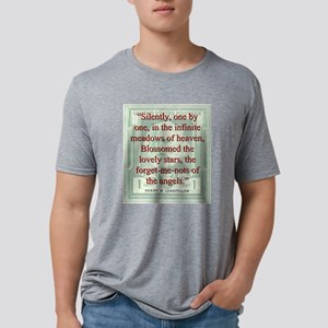 Silently One By One - Longfellow Mens Tri-blend T-