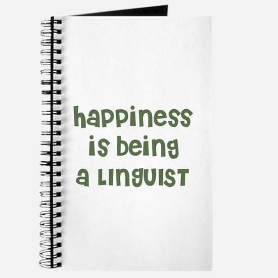 Happiness is being a LINGUIST Journal