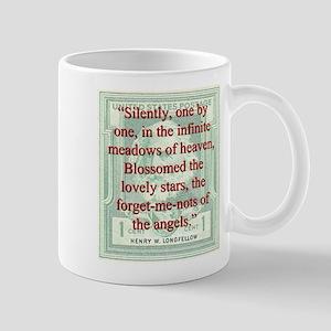 Silently One By One - Longfellow 11 oz Ceramic Mug