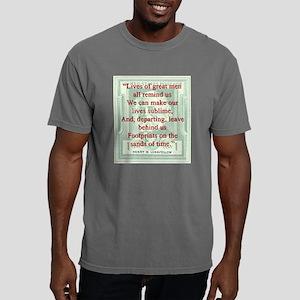 Lives Of Great Men - Longfellow Mens Comfort Color