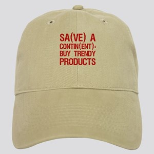 """""""Save a Continent: Buy..."""" Cap"""