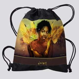 Poster.Dawn Drawstring Bag