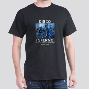 Disco Inferno Portrait T-Shirt