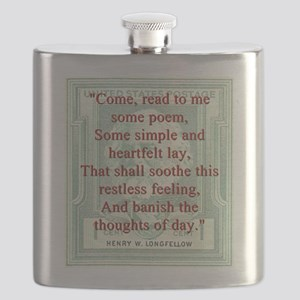 Come Read To Me Some Poem - Longfellow Flask