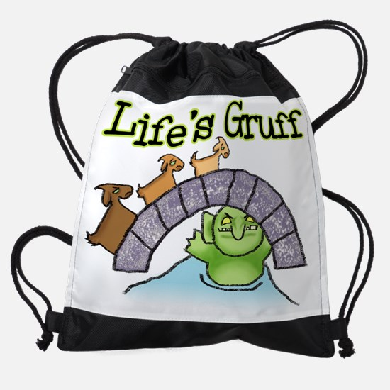 Goats Gruff.png Drawstring Bag