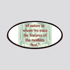 Art Is The Child Of Nature - Longfellow Patch