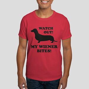 My Wiener Bites! Dark T-Shirt