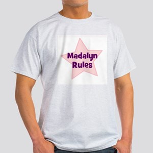 Madalyn Rules Ash Grey T-Shirt