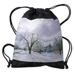 Ice Storm Canada Calendar copy Drawstring Bag